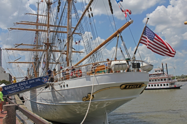 "The US Coast Guard ""Eagle"""
